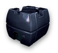 300 Litres Black Polyethylene (PE) Chemical / Liquid Tank, with Tank Level Guage