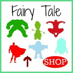 Wooden DIY Craft Unfinished Shapes Fairytale