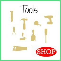 Wooden DIY Craft Unfinished Shapes Tools