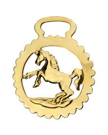 Horse Brass: Rearing Horse design