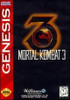 Mortal Kombat 3 (III) - Genesis Game
