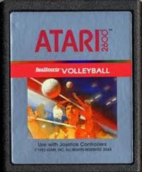 Real Sports Volleyball - Atari 2600 Game