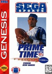 Prime Time NFL Football - Genesis Game