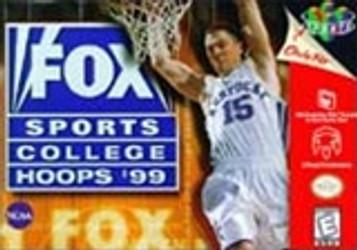 Fox Sports College Hoops 99 - N64 Game