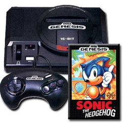 Sega Genesis Sonic Pak