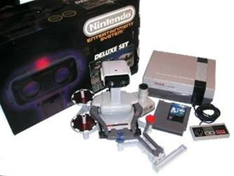 Nintendo NES Deluxe Set Complete In Box