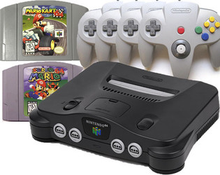 N64 Explosion Pak with upgrade
