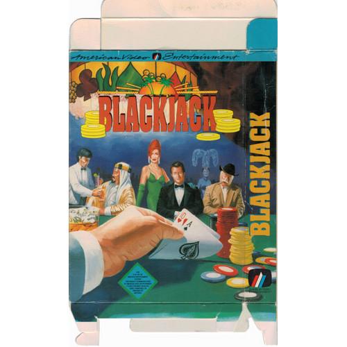 NES Box For Blackjack Black Jack