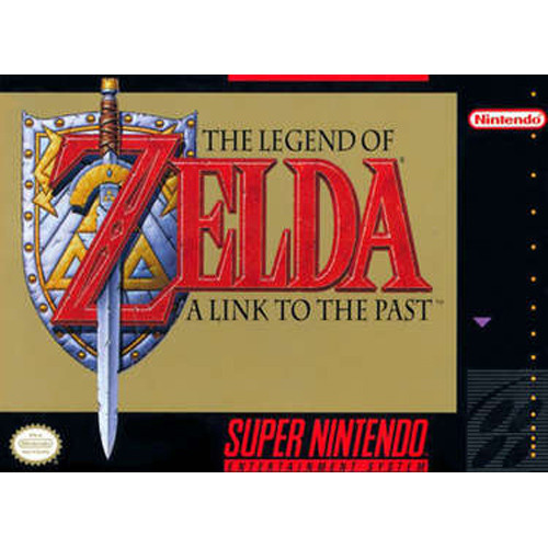 Legend Of Zelda A Link To The Past SNES Game Cartridge