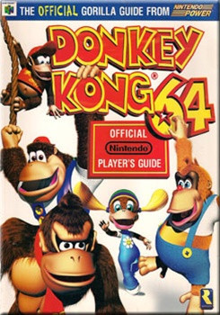 Official Nintendo 64 Player's Guide Donkey Kong 64 | DKOldies