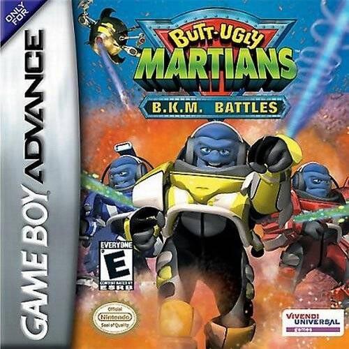 Butt Ugly Martians Bkm 42
