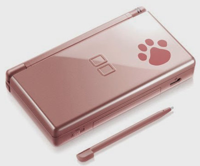 nintendo ds lite metallic rose nintendogs dkoldies. Black Bedroom Furniture Sets. Home Design Ideas