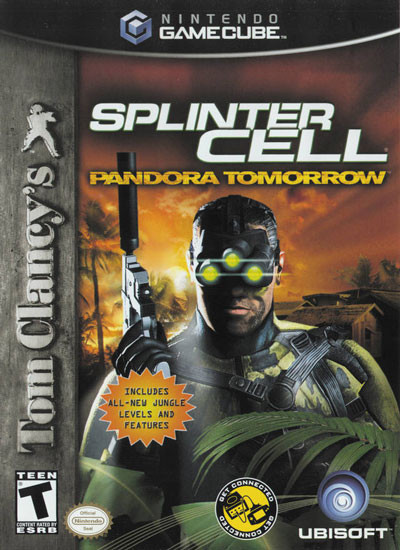 Splinter Cell Pandora Tomorrowgamecube Game Dkoldies