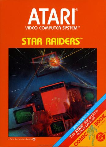 Complete Star Raiders Atari 2600 Game | DKOldies.