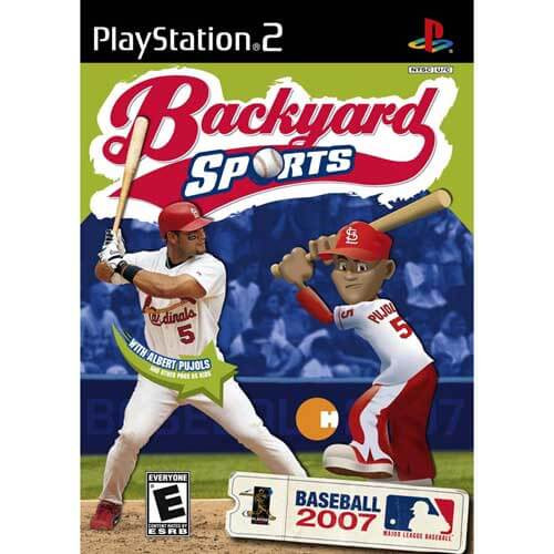 Backyard Sports Baseball 2007 PlayStation 2 Game