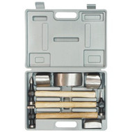 7PC. HAMMER AND DOLLY SET