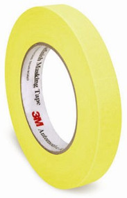 "RL. 3/4"" YELLOW REFINISH MASKING TAPE (48/CS)"