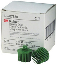 "1"" 50GRADE GREEN ROLOC BRISTLE"
