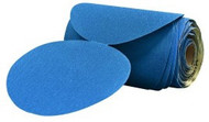 3M䋢 Stikit䋢 Blue Abrasive Disc Roll, 6 in, 500