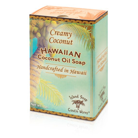 Creamy Coconut coconut and palm oil soap