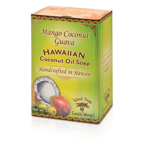 Mango Coconut Guava coconut and palm oil soap