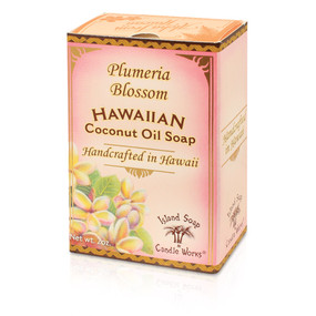 Plumeria Blossom coconut and palm oil soap