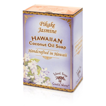 Pikake Jasmine coconut palm soap