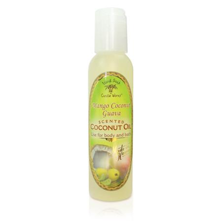 Mango Coconut Guava - Aromatic CocoMac Oil 4.5 oz. Bottle