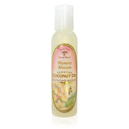 Plumeria Blossom - Aromatic CocoMac Oil 4.5 oz. Bottle