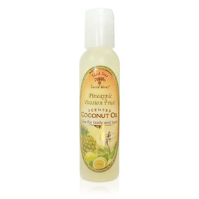 Pineapple Paradise - Aromatic CocoMac Oil 4.5 oz. Bottle
