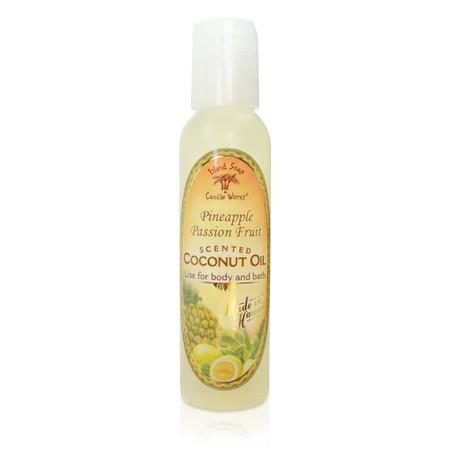 Pineapple Paradise - Aromatic CocoMac Oil 4.5 oz. Bottle