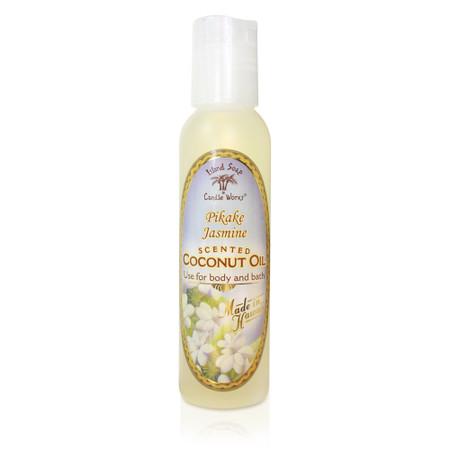 Pikake Jasmine - Aromatic CocoMac Oil 4.5 oz. Bottle
