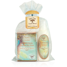 Creamy Coconut 2 oz. organza gift bag