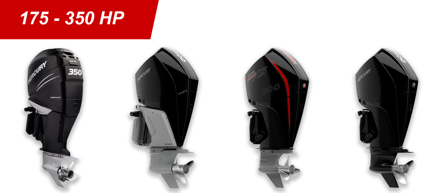 175-300hp Mercury Outboards