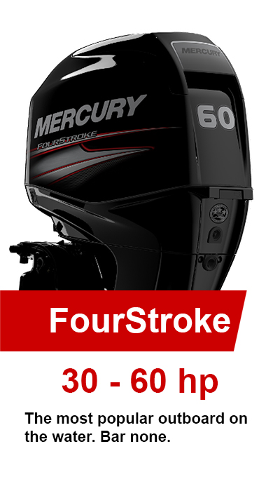 30-60hp FourStroke Mercury Outboards