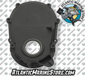 [J] Aluminum w/Sensor Hole Timing Cover (Fits GM 7.4 454 Gen 6)