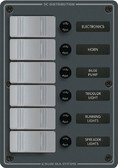 PANEL DC 6 POS. WATERPROOF WATER RESISTANT DC FUSE PANELS (BLUE SEA SYSTEMS)