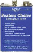 BOATERS CHOICE RESIN GL W/HDNR BOATERS CHOICE RESIN WITH WAX (EVERCOAT)