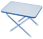 MELAMINE TOP DECK TABLE 16X24 MELAMINE TOP DECK TABLE (GARELICK)