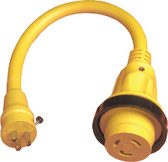 30AMP/125V ADAPTER  POWER LED PIGTAIL ADAPTERS (MARINCO)