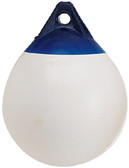A-3 WHITE 17  DIAM. BUOY A SERIES BUOY (POLYFORM)
