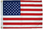 FLAG US PRINTED 12X18 50 STAR FLAGS - DYED (TAYLOR)