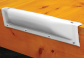DOCK BUMPER STRAIGHT WHITE 18I DOCK PRO VINYL DOCK BUMPERS (TAYLOR)