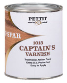 CAPTAIN'S VARNISH-PINT CAPTAIN'S VARNISH (PETTIT)
