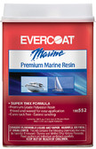 GAL RESIN W/WAX PREMIUM MARINE RESIN WITH WAX (EVERCOAT)