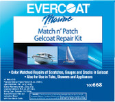 MATCH N PATCH REPAIR KIT MATCH N' PATCH GELCOAT REPAIR KIT (EVERCOAT)