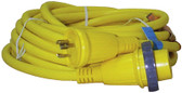 30A/125V 50' CABLE SET 30A 125V SHORE POWER CABLE SETS (HUBBELL)