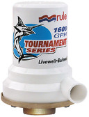 LIVEWELL 1600 PUMP BRONZE TOURNAMENT SERIES LIVEWELL/AERATOR PUMP (RULE)