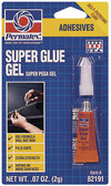 P 2 GRAM SUPER GLUE GEL SUPER GLUE GEL (PERMATEX)