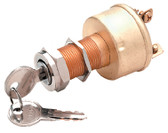 IGNITION SWITCH-3 TERM/3 POS 3 POSITION HEAVY DUTY IGNITION STARTER SWITCH (SEACHOICE)